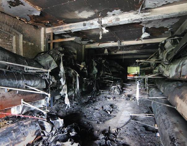 Boathouse Fire July 2005