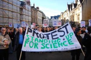 Speaking of Research was born out of the Pro-Test movement in Oxford, UK