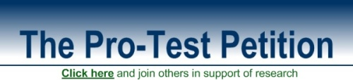 Pro-TestPetitionBannerAMPHomePage