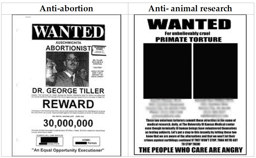 Wanted Posters Speaking of Research