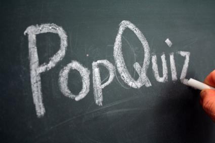 Pop Quiz! | Speaking of Research