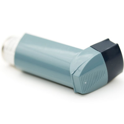 Side effects of inhaler use can include sore throats and oral thrush