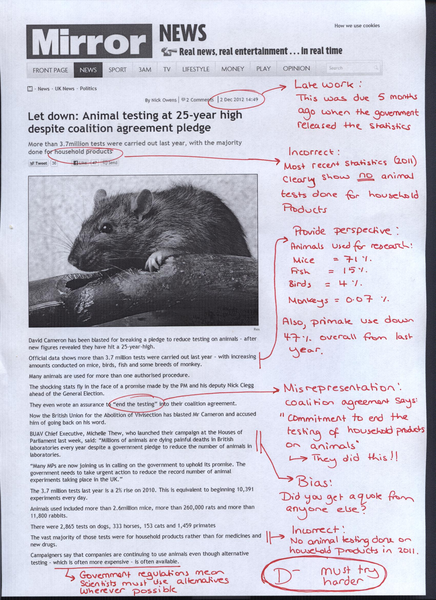 Argumentative Essays On Animal Cruelty   Docoments Ojazlink  Saad Arslan Research in Animal Science Kenneth McKeever While I do not have  too much experience