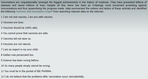 Fact or Fiction?: Vaccines Are Dangerous