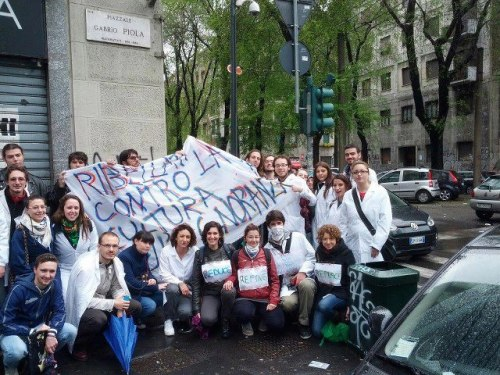 Scientists take to the streets of Milan!