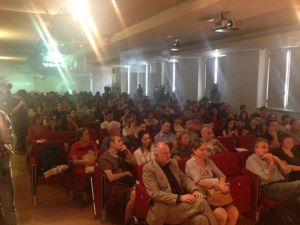 Hundreds attended the lectures and discussions in Milan