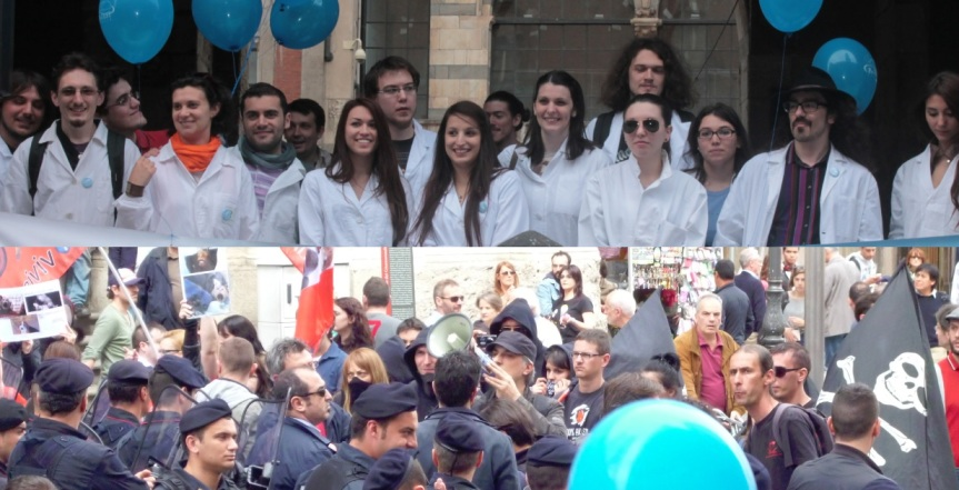 Which of these groups do you want controlling Italian science policy?