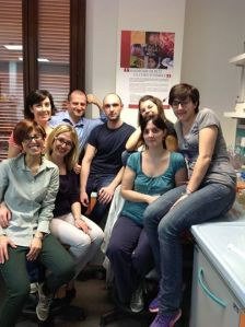 The Rett syndrome research team at the University of Insubria in Busto Arsizio