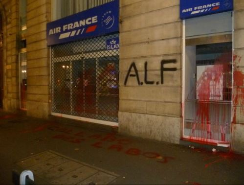 Attack on Air France Offices, December 2013