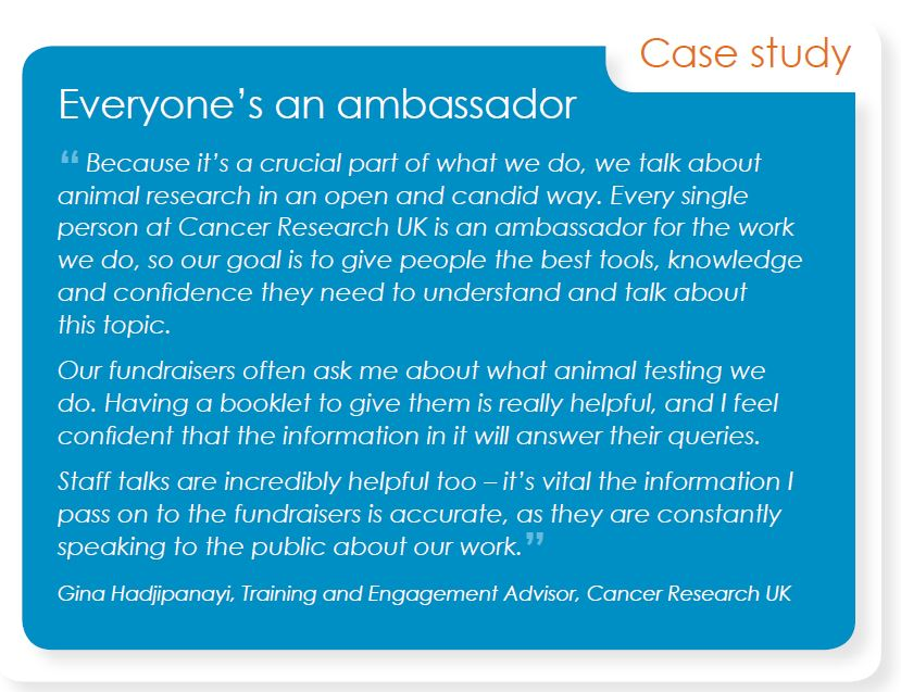 Cancer Research UK Case Study