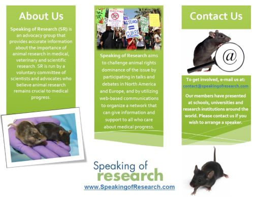 Speaking of Research Leaflet Page 1