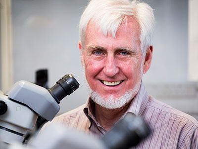 Professof John O'Keefe, 2014 Nobel Laureate in Medicine or Physiology. Image: David Bishop, UCL.
