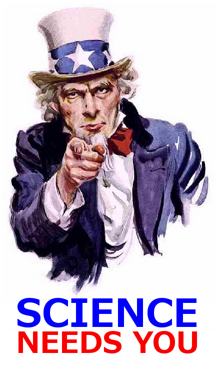 Science Needs You
