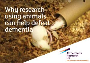 Alzheimer's Research UK Leaflet animal testing