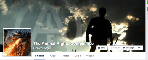 Animal Rights Compliance Facebook page