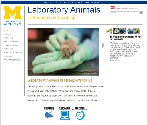 Michigan animal research