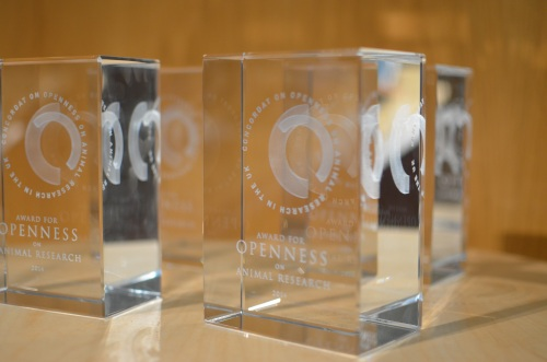 The 2014 Openness Awards celebrated efforts to encourage better communication about animal research