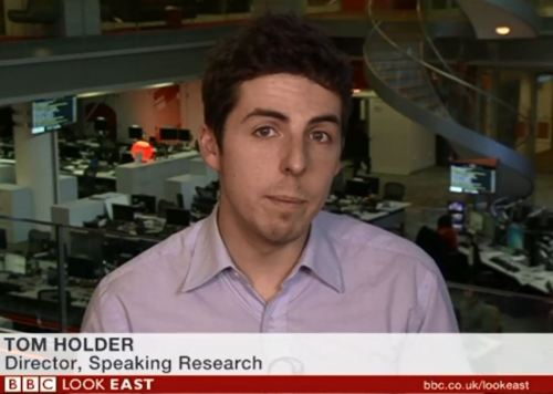 Tom Holder on BBC
