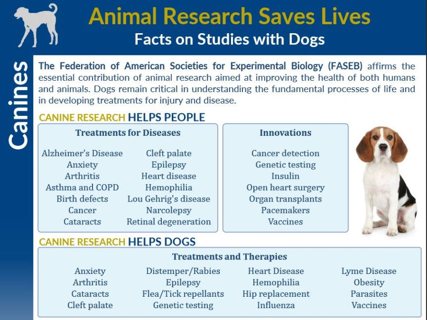 FASEB Briefing - Animal Research Saves Lives - Facts on Dogs