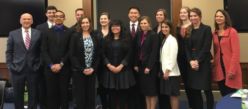 The 2016 Class of Society for Neuroscience Early Career Policy Ambassadors