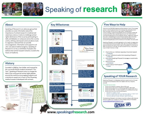 Poster AALAS Speaking of Research