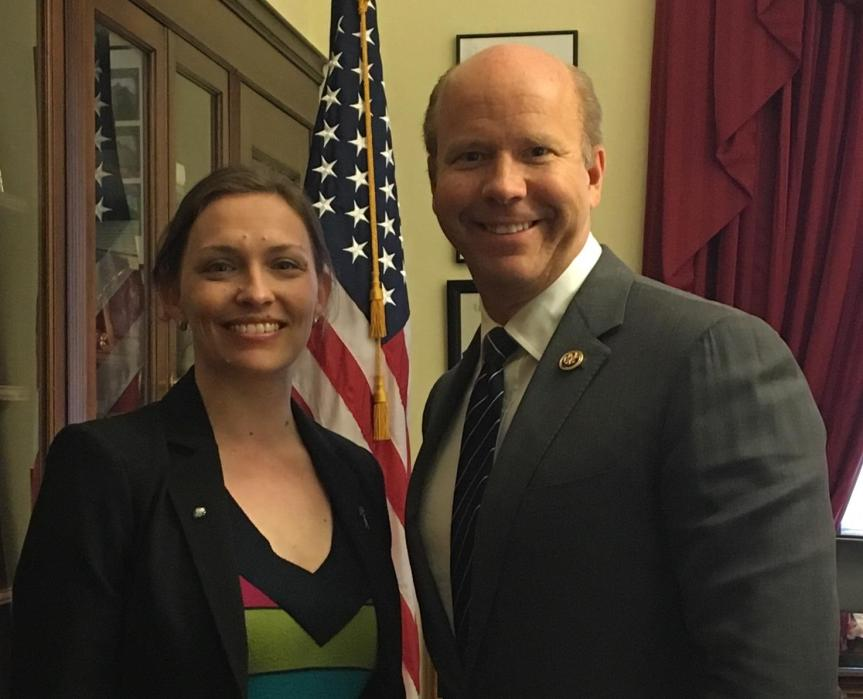 Dr. Dettmer with Rep. John Delaney (D-MD, 6)