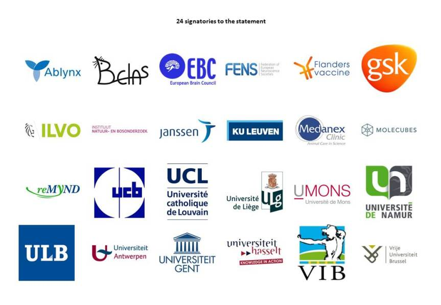Signatories to the Belgian statement