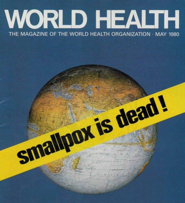 Research Roundup: 38th anniversary of smallpox eradication, the ...